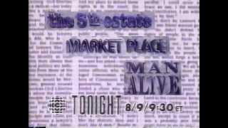 CBC October 22, 1991 Bumper Promos
