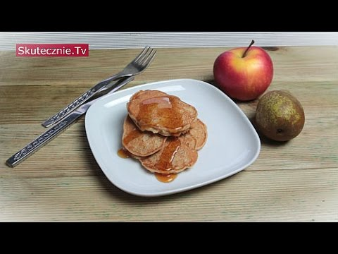 Pełnoziarniste placki z gruszką i jabłkiem :: Skutecznie.Tv [HD]