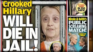 CROOKED HILLARY WILL DIE IN JAIL AFTER BACKSTABBING BILL SELLS HER OUT!