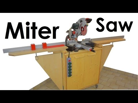 miter saw station stop block system dust collection test metabo kgs 254 plus youtube. Black Bedroom Furniture Sets. Home Design Ideas