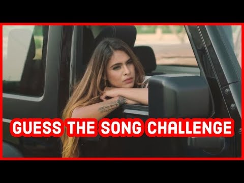Guess The Song Challenge Youtube