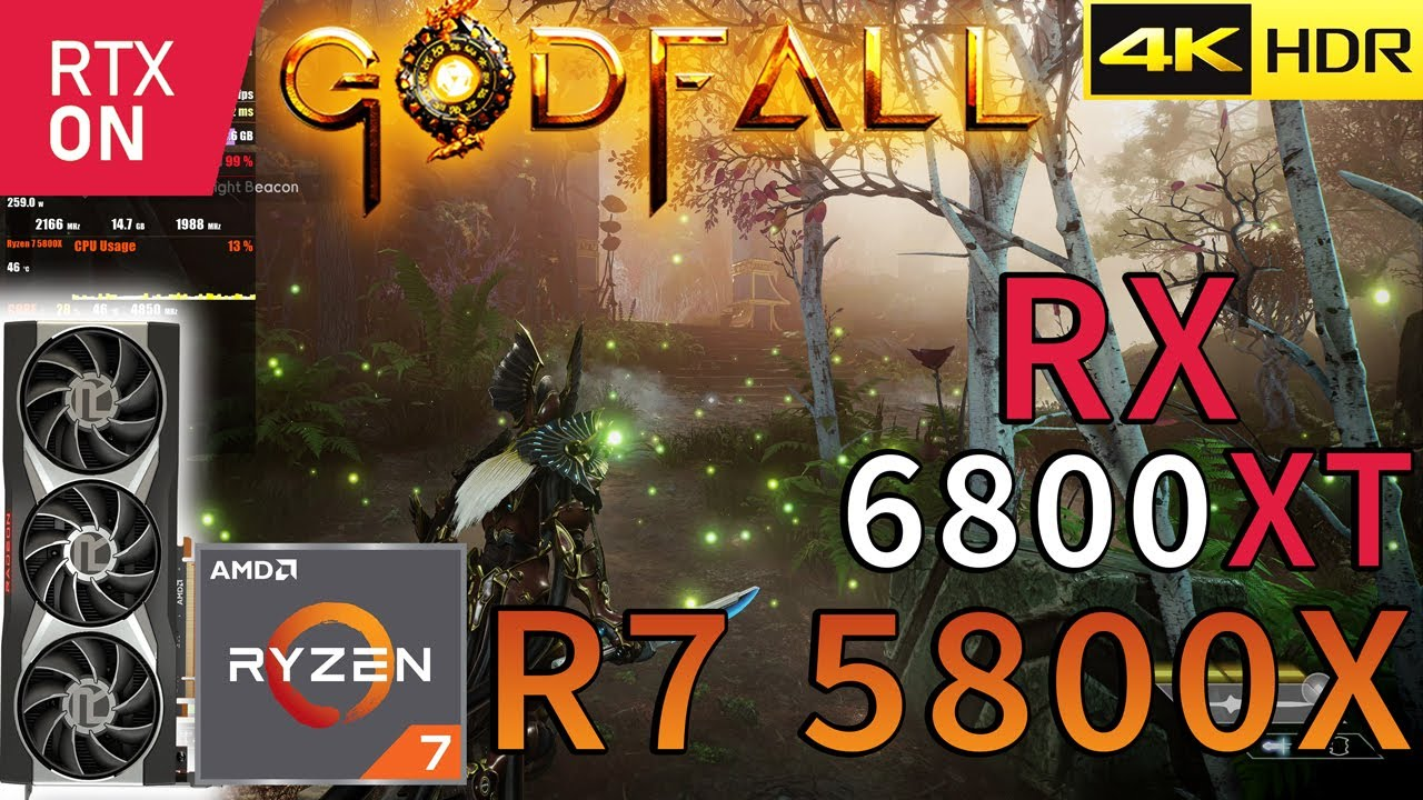 Download Godfall 4K | HDR | RX 6800 XT | Ryzen 7 5800X | RAY TRACING | Epic Settings