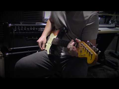 "Mark Foley Guitar Products ""Big Iron Low Wind"" pickups on Miranda 62 Strat - Clean Test"
