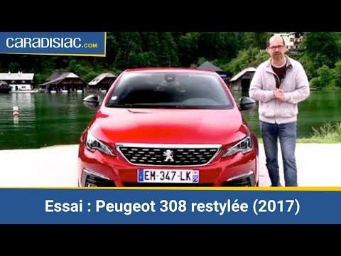 essai peugeot 308 restyl e 2017 toujours le bon num ro youtube. Black Bedroom Furniture Sets. Home Design Ideas