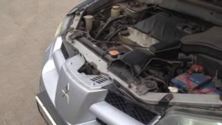 Взяли в разбор Mitsubishi Outlander (CU) 2003 года.