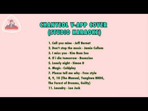 [160702] Chanyeol V-app Karaoke Show
