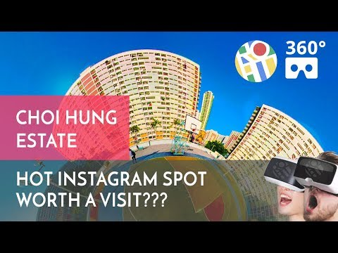 Hot Instagram Photo Spot Worth a Visit? Choi Hung Estate 360° Hong Kong Walk