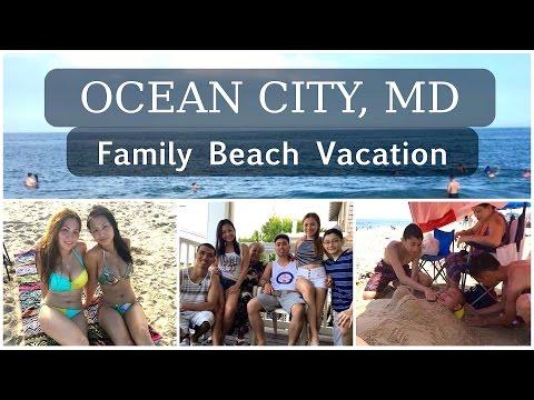 Family Vacation Vlog | Ocean City, MD July 2016 |