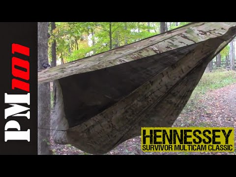 Hennessey Survivor Classic Hammock: The Gauntlet  - Preparedmind101