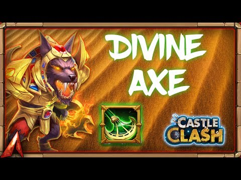 Getting Anubis Equipment/Traits! Castle Clash