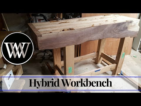 Hand Tool Woodworking Bench 4 – Wood By Wright Roubo English Hybrid Workbench