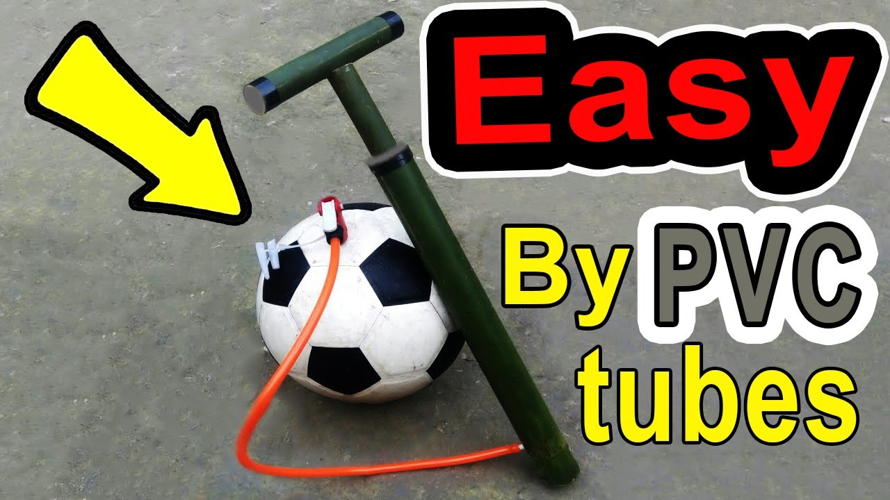 How to make a simple compressor from PVC pipes 😮