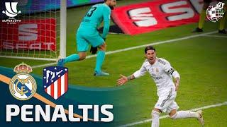 La tanda de penaltis ÍNTEGRA que dio al Real Madrid la victoria en la Supercopa ante el Atleti