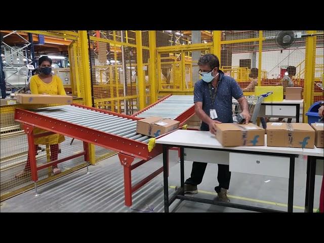 Gravity Roller Conveyor | CANOPUS Non-motorized Roller Conveyor - Nido Automation #madeinindia