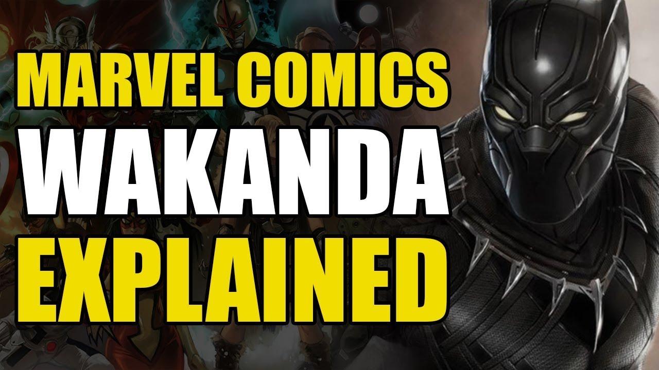 Download Marvel Comics: Wakanda Explained