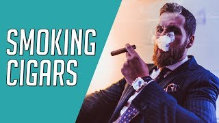 Cigar Expert Teaches H๐w To PROPERLY Smoke Cigars || Gent's Lounge w/ Puro Trader