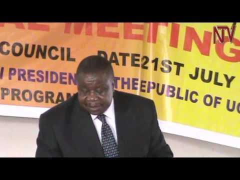 Maj. Gen. Kahinda Otafiire becomes centre of a dispute UAAU elections in Mbarara
