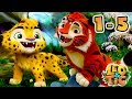 Leo And Tig All Episodes Compilation 1 5 New Animated Movie 2017 Kedoo ToonsTV mp3