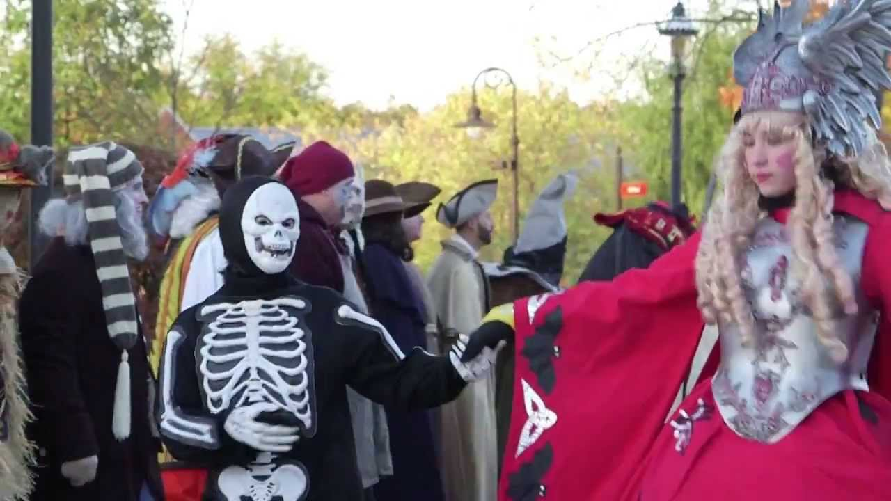 Hallowe'en in Greenfield Village - YouTube