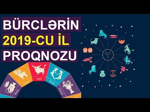 Bürclər 2019-cu il PROQNOZ