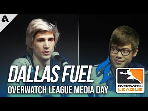 Dallas Fuel on Player Streaming Policy, Fan Interaction & Twitch | Overwatch League Media Day