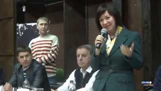 Светлана Тарасова на литфесте ''Белое пятно-2015''