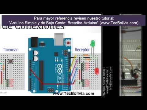 Arduino Intermedio Comunicacion Inalámbrica Con Módulos Rf