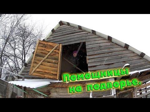 СГОРЕЛА ЦИРКУЛЯРКА// РАБОТА ОСТАНОВИЛАСЬ//ПОМОЩНИЦЫ НА ПОДВОРЬЕ//деревенские будни
