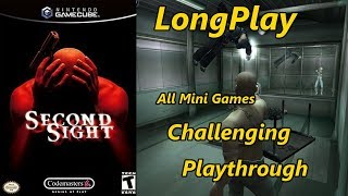 Second Sight - Longplay Challenging Difficulty All Mini Games Full Game Walkthrough (No Commentary)