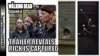Trailer Reveals Rick Is Captured!?    The Walking Dead Season 8