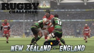 Rugby Challenge PC Gameplay New Zealand - England