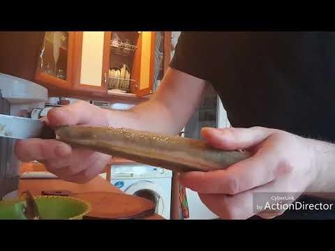 Как чистить стерлядь в домашних условиях видео