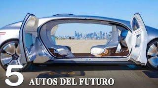 TOP 5 AUTOS DEL FUTURO - CARROS AUTONOMOS QUE DEBES VER
