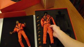 michael jackson thriller figure unboxing brand new mj collectables hot toys hong kong japan