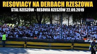 Kibice Resovii na Derbach Rzeszowa 22.09.2019