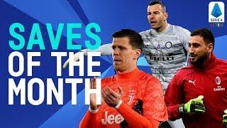 Szczęsny, Donnarumma & Handanović Top Saves! | Saves Of The Month | January 2020 | Serie A TIM