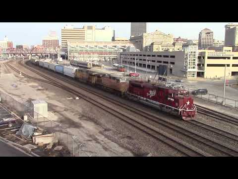 UP 1988 passes Kansas City Union Station