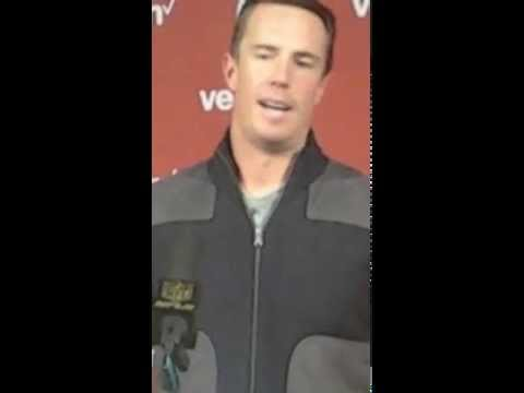 Gridiron Blitz: Postgame presser of Atlanta Falcons quarterback Matt Ryan 10.25.15