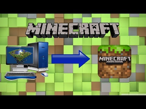 HOW TO: TRANSFER YOUR MINECRAFT WORLDS: Computer To Pocket Edition: IOS (ipod touch, iphone, ipad)