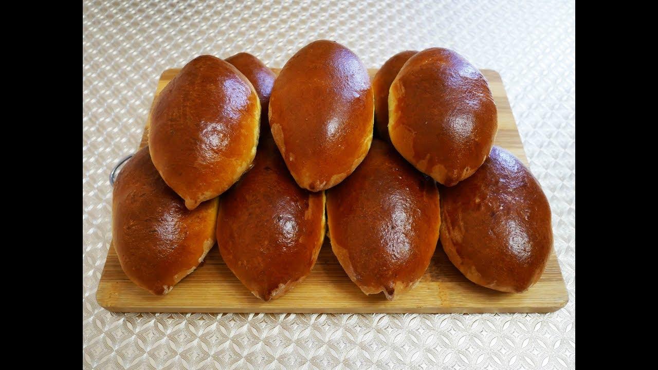 ПЫШНЫЕ ДРОЖЖЕВЫЕ пирожки с НЕЖНОЙ начинкой из ЯБЛОК