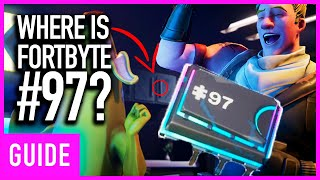 Fortnite: Where Is Hidden FortByte Piece #97? | Season 9 Fortbyte Challenge Guide
