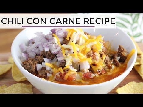 chili-con-carne-|-easy-healthy-chili-recipe
