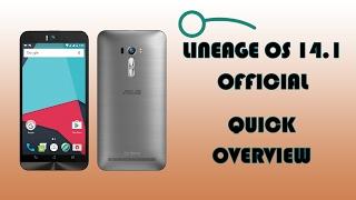 ZenFone Selfie - LineageOS 14.1 Overview