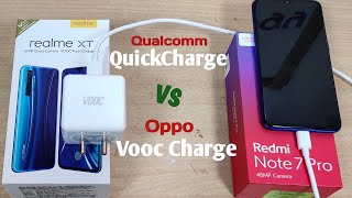 VOOC vs Quick-Charge 4.0 Test   Oppo Vooc Charger in Qualcomm Quick Charge 4.0 Support Environment..
