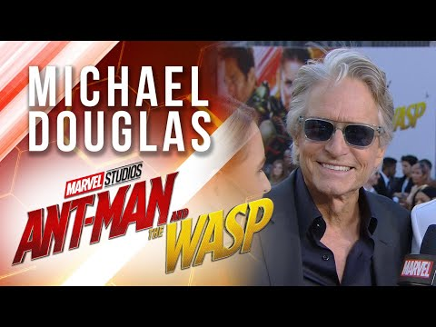 Michael Douglas at Marvel Studios' Ant-Man and The Wasp Premiere