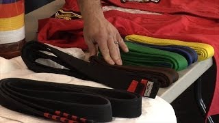 How many belts are in Karate? - Fred Mergen
