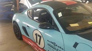 Porsche Cayman Coyote swap!