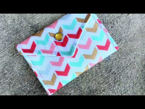 Credit Card Holder or Gift Card Holder or Coin Purse by Sparkle Kavi
