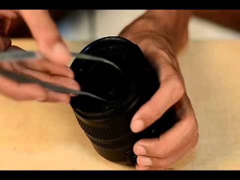 Cara Ekstreme membersihkan Lensa Nikkor 18mm-70mm