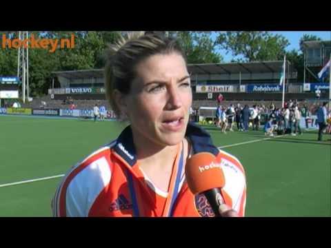 Hockey.nl TV - Kim Lammers: 'Winnen, zonder ideale voorbereiding'